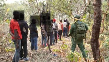 SIC detém cinco cidadãos da RDC por violação de fronteira e da cerca sanitária